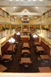 North atrium at Regency at South Shore